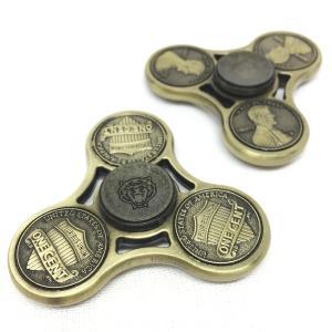 ハンドスピナー Hand Spinner フィンガースピナー コイン アメリカン|utsunomiyahonpo