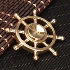 ハンドスピナー Hand Spinner フィンガースピナー 舵輪 合金|utsunomiyahonpo