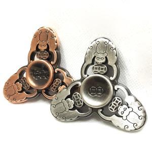 ハンドスピナー Hand Spinner フィンガースピナー アニマル 合金 チタン製 キモかわいい|utsunomiyahonpo