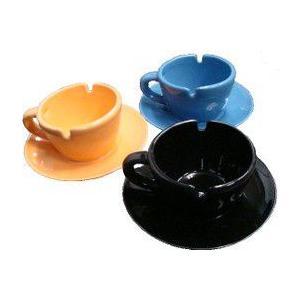 インテリア灰皿 コーヒーカップ風灰皿 喫煙グッズ 灰皿|utsunomiyahonpo
