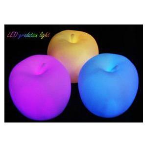 LED インテリア 照明 卓上 ペンギン りんご テーブル デスク 寝室 玄関 モチーフ 置物 utsunomiyahonpo