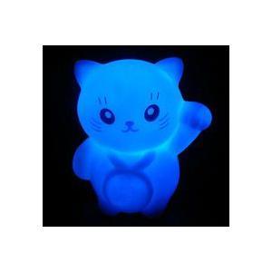 LED インテリア 照明 卓上 ペンギン 招き猫 テーブル デスク 寝室 玄関 モチーフ 置物 utsunomiyahonpo