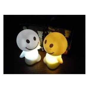 LED インテリア 照明 卓上 ペンギン スマイル テーブル デスク 寝室 玄関 モチーフ 置物 utsunomiyahonpo