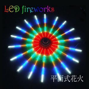 LED 花火 電子花火 壁掛け式 LED イルミネーション デジタル 花火  ショー モチーフ ライト 電飾ライト utsunomiyahonpo