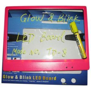 看板 光る看板 メッセージボード 310mm×240mm 手書き 手書き看板 ライティングボード ブラックボード 電光掲示板 光る LED 電飾 屋外 店舗用 utsunomiyahonpo