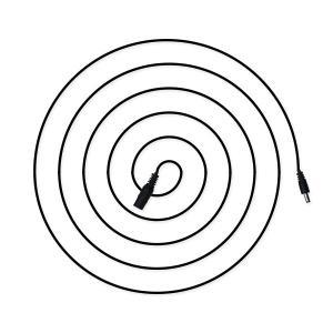 DC 延長 ケーブル 5m コード 外径5.5mm 内径2.1mm 許容量 6A DCジャック DCプラグ DCコネクタ ケーブル|utsunomiyahonpo