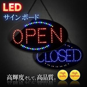 看板 LEDサインボード OPEN  CLOSED 380×685 店舗 営業中 電光掲示板|utsunomiyahonpo