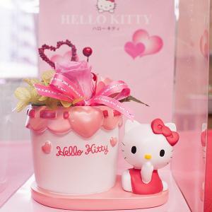 ハローキティ アレンジメント プリザーブド バラ Rose プリザーブドフラワー  お花 キティ Hello Kitty|utsunomiyahonpo
