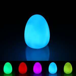 LED インテリア 照明 卓上 卵 たまご テーブル デスク 寝室 玄関 モチーフ 置物 utsunomiyahonpo