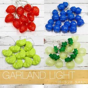 LED ガーランドライト キャンプ 3Dモチーフ 乾電池式|utsunomiyahonpo