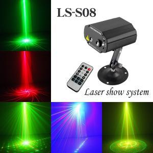 ステージライト 舞台照明 レーザービーム ライト LS-S08 RG+B(LED) 3色|utsunomiyahonpo