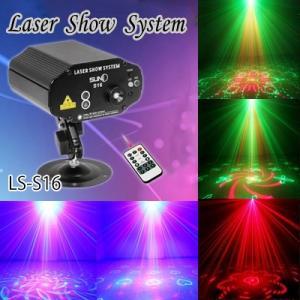 ステージライト 舞台照明 レーザービーム ライト LS-S16  RG+B(LED) レインボー スポットライト|utsunomiyahonpo