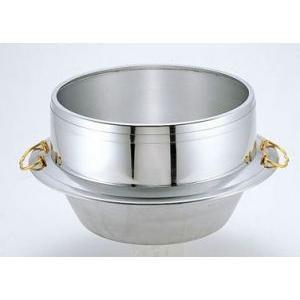 羽釜(炊飯用お釜)30cmアルミ製 カン付|utuwayaissin