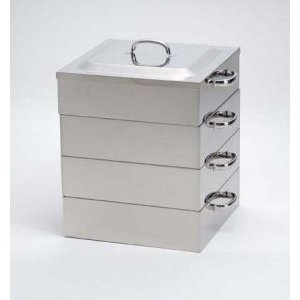 業務用角蒸し器3段33cm・電磁調理器対応|utuwayaissin