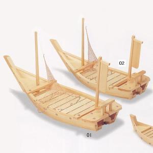 木製舟盛り器 檜・料理舟80cm(網付)|utuwayaissin