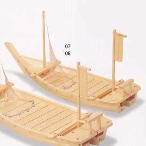 木製舟盛り器 白木料理舟90cm(網付)|utuwayaissin