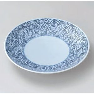 大皿 (盛込皿)・タコ唐草13号皿(業務用大皿)40cm|utuwayaissin