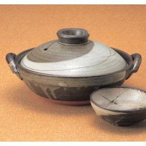 京型土鍋10号 京庵(4〜5人用・日本製)|utuwayaissin