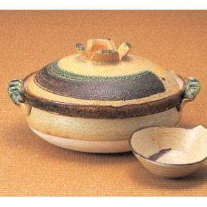深型土鍋10号 切立ハケメ(5人用・日本製)|utuwayaissin
