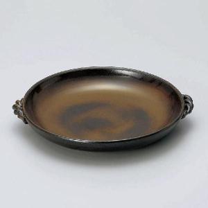 灰釉陶板8号(25.8cm)陶器製業務用|utuwayaissin