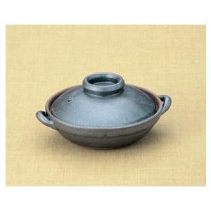 小鍋(ミニ土鍋) 鉄結晶5号平鍋(15cm)|utuwayaissin