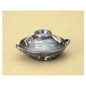 小鍋(ミニ土鍋) 唐津刷毛目5号平鍋(15cm)|utuwayaissin