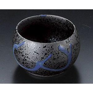 小付 黒結晶青流深小鉢 utuwayaissin