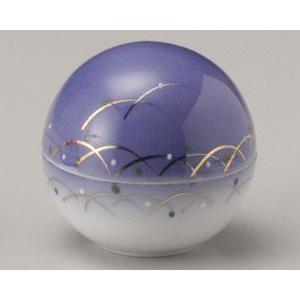 武蔵野紫丸型蓋付珍味入れ|utuwayaissin