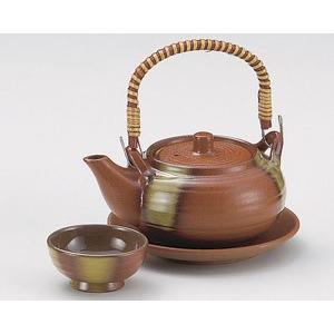 土瓶蒸し 鉄彩丸型土瓶むし(直火可) utuwayaissin
