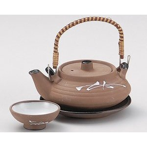 土瓶蒸し 松葉平型土瓶むし(直火可)|utuwayaissin
