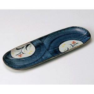さんま皿 ごす濃花丸紋33.5×11.5cm業務用|utuwayaissin