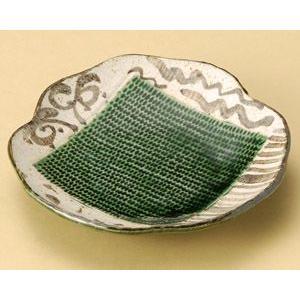 織部トチリ枡入り48皿(銘々皿) 16cm utuwayaissin