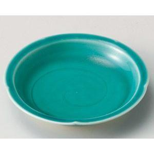 緑釉 フルーツ皿 15cm utuwayaissin
