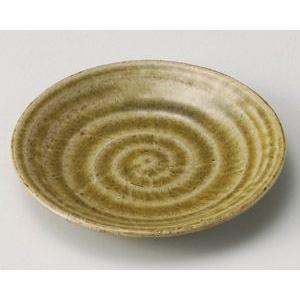 灰釉古代 取皿( 銘々皿)13.8cm utuwayaissin