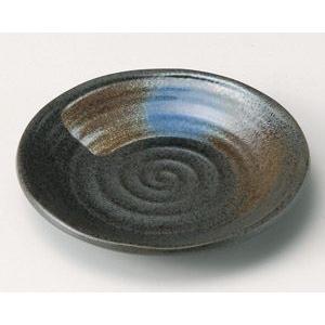 業務用取皿 黒水晶4.5皿 14cm utuwayaissin
