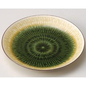 業務用取皿 織部流しトチリ4.5丸皿 13.7cm utuwayaissin