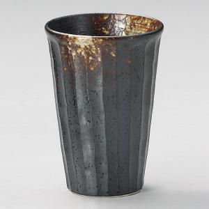 焼酎カップ(お湯割り用) 古備前しのぎ 業務用|utuwayaissin