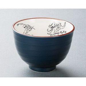 鳥獣戯画(紺)小丼|utuwayaissin