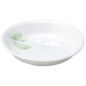 給食用食器 赤い実・12.5cm浅皿(強化磁器)|utuwayaissin
