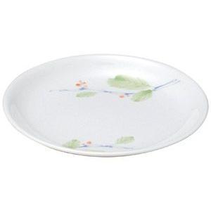 給食用食器 赤い実・16cm浅皿(強化磁器)|utuwayaissin