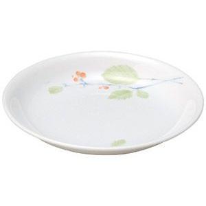 給食用食器 赤い実・17.8cm浅皿(強化磁器)|utuwayaissin