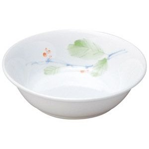 給食用食器 赤い実・13cm深皿(強化磁器)|utuwayaissin