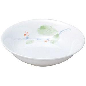 給食用食器 赤い実・14cm深皿(強化磁器)|utuwayaissin