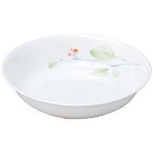 給食用食器 赤い実・18cm深皿(強化磁器)|utuwayaissin