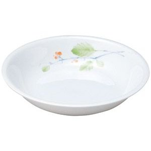 給食用食器 赤い実・20.4cm深皿(強化磁器)|utuwayaissin