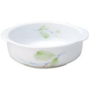 給食用食器 赤い実・11.3cm耳付小鉢(強化磁器)|utuwayaissin