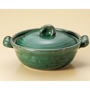 織部 10号鍋(5人用・日本製・手造り)|utuwayaissin