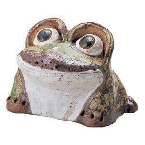 信楽焼 出目蛙 4号|utuwayaissin