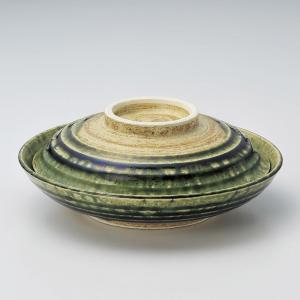 煮物碗・織部 骨むし碗21cm|utuwayaissin