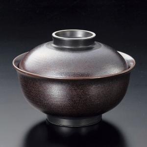 蓋付き煮物碗・鉄砂反型円菓子碗・大12.8cm|utuwayaissin